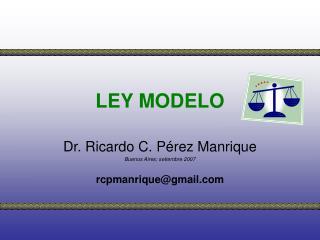 LEY MODELO