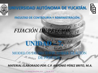 UNIVERSIDAD AUT NOMA DE YUCAT N.