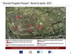 Grande Progetto Pompei : Bandi di aprile  2012