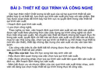 B I 2- THIT K QUI TR NH V  C NG NGH