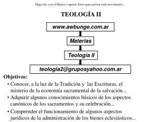 TEOLOG A II