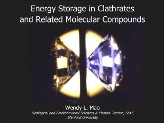 Energy Storage in Clathrates  and Related Molecular Compounds