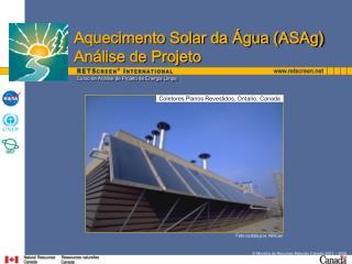 Curso de An lise de Projeto de Energia Limpa