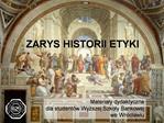 ZARYS HISTORII ETYKI