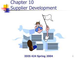 Chapter 10 Supplier Development