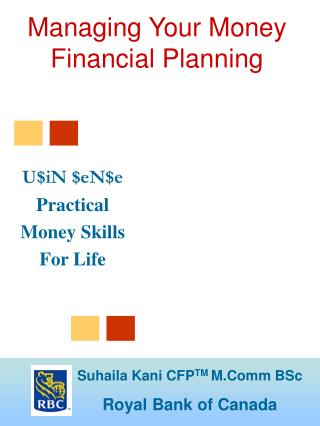Managing Your Money Financial Planning