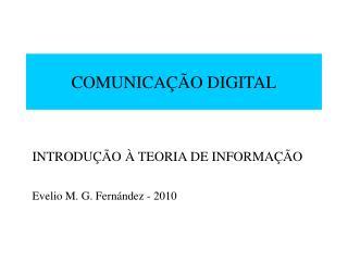 COMUNICA  O DIGITAL
