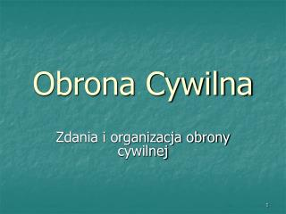 Obrona Cywilna