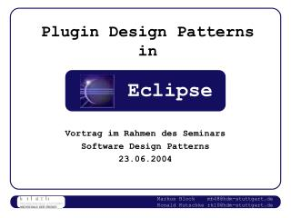 Plugin Design Patterns in