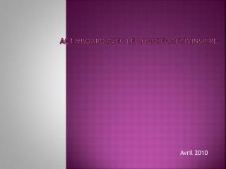 ActivBoard avec le logiciel ActivInspire.