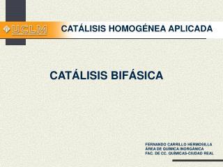CAT LISIS HOMOG NEA APLICADA