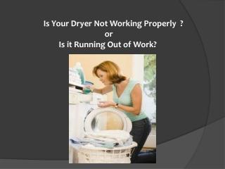Cloths Dryer repairing Parts