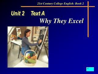 Unit 2 Text A