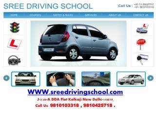 driving school in delhi, motor training school delhi