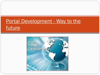 Portal Development - Way to the future