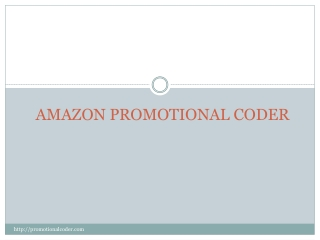 Promotional Coder