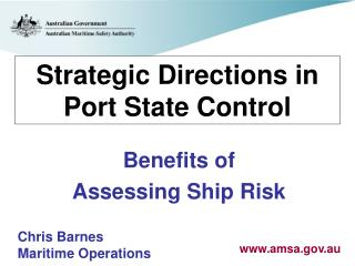 Strategic Directions in Port State Control