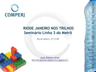 RIODE JANEIRO NOS TRILHOS Semin rio Linha 3 do Metr   Rio de Janeiro,  21