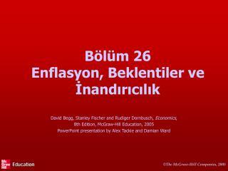 B l m 26 Enflasyon, Beklentiler ve Inandiricilik