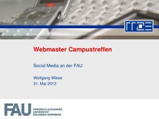Webmaster Campustreffen