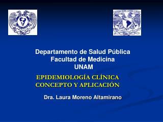 EPIDEMIOLOG A CL NICA CONCEPTO Y APLICACI N