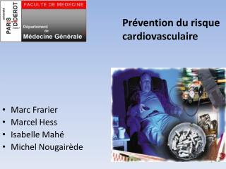 Pr vention du risque cardiovasculaire