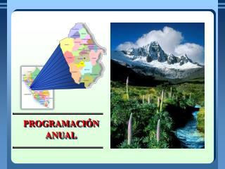 En la programaci n anual se organiza las unidades did cticas que se ha previsto desarrollar durante el a o escolar en un