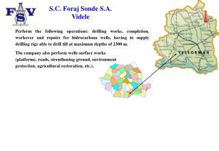 S.C. Foraj Sonde S.A.  Videle