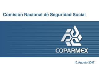 Comisi n Nacional de Seguridad Social