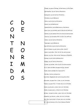 Chiapas, Ley para el Dialogo, la Conciliacion y la Paz Digna