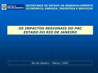 SECRETARIA DE ESTADO DE DESENVOLVIMENTO ECON MICO, ENERGIA, IND STRIA E SERVI OS