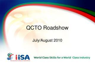 QCTO Roadshow
