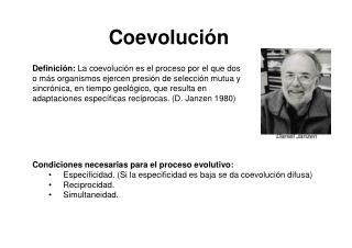 Coevoluci n