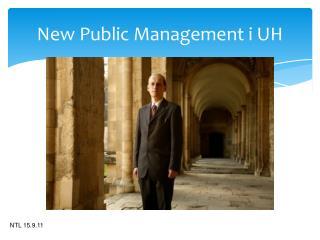 New Public Management i UH
