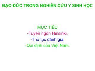 O  C TRONG NGHI N CU Y SINH HC