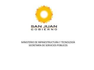 MINISTERIO DE INFRAESTRUCTURA Y TECNOLOG A SECRETAR A DE SERVICIOS P BLICOS