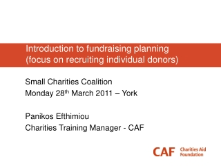 Creative Charitable   Planning Strategies