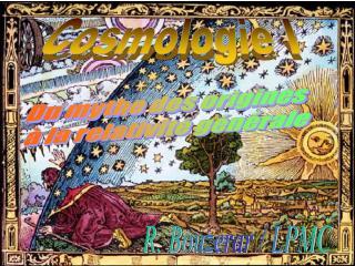 Cosmologie I