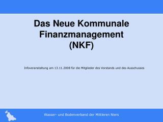 Das Neue Kommunale Finanzmanagement NKF