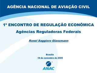 AG NCIA NACIONAL DE AVIA  O CIVIL