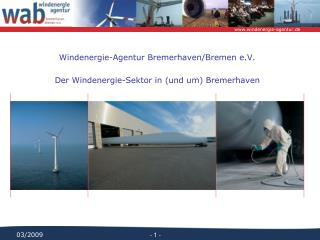 Windenergie-Agentur Bremerhaven