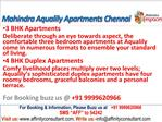 Mahindra Lifespaces Aqualily Apartments Chennai