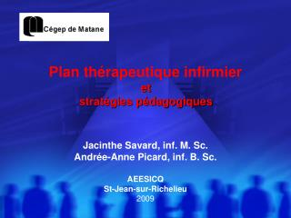 Plan th rapeutique infirmier