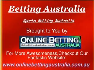 Betting Australia
