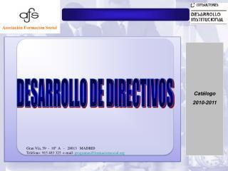 1.El Directivo como Persona 2.El Directivo y el Colaborador 3.El Directivo y el Equipo 4.El directivo y la Caja