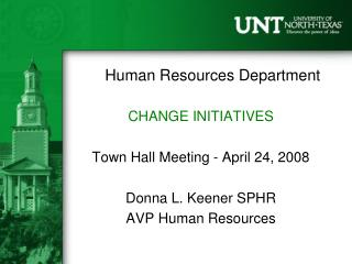 Human Resources Department