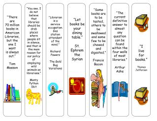 Other Bookmarks