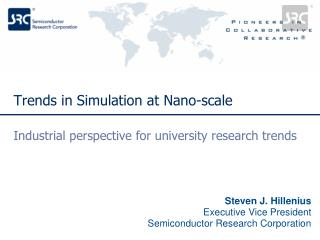 Trends in Simulation at Nano-scale
