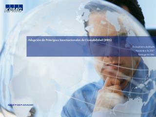 Adopci n de Principios Internacionales de Contabilidad IFRS
