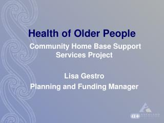 Health of Older People